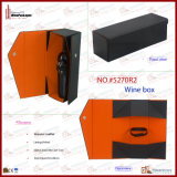 LuxuxFoldable PU Leather Wine Box für 1 Bottle (5270R3)