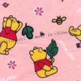 tela de la franela de la impresión 100%Cotton para la ropa de los niños