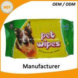Het wegwerpproduct veegt voor de Katten van Honden af
