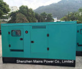 100kVA 80kwのスタンバイのレートの無声タイプCumminsのディーゼル発電機