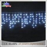 Luz de interior/al aire libre del carámbano 2016 de la Navidad del LED de la decoración