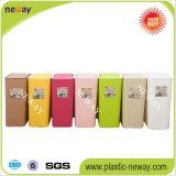 Fabricante ondulado personalizado do escaninho Waste dos plásticos do agregado familiar portátil