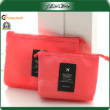 Im FreienPrinted Polyester Travel Wash Cosmetic Bag mit Zipper