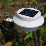 정원 담 지붕 개골창 야드 훈장 램프 점화를 위한 옥외 태양 에너지 LED 빛
