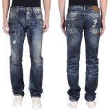 Pantalones de los pantalones vaqueros del dril de algodón de la calidad de los hombres al por mayor Niza