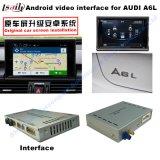 surface adjacente visuelle de modification de système d'appareil-photo des multimédia 10-15car GPS intrinsèque pour Audi A1 A4 A5 A6