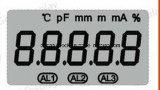 Temperatura larga dell'affissione a cristalli liquidi delle cifre di Tn 5 su ordine