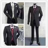 新郎のしまのある結婚式の夕方ビジネスおよび人党スーツ
