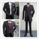 신랑 Striped Wedding Suit, Evening Suit, Business 및 Men Party Suit