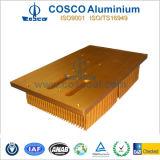 CNC를 가진 알루미늄 또는 알루미늄에 의하여 찢긴 열 싱크는 기계로 가공했다