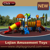 Schule-im Freien Plastikspielplatz-Schwingen mit Plättchen (X1508-10)