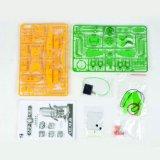 4452127-Solar Robot Sei--One in Green Energy Toy Kit Intelligent Toy DIY Fun Game