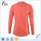 Eignung-Hemd-unbelegte Frauen-Feuchtigkeit Wicking Hemden