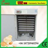 Ovo automático cheio da incubadora de 1232 ovos que choca o preço da máquina