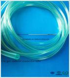 Tube en plastique de PVC de Multi-Cannelure pour le cathéter médical de l'oxygène des produits d'hôpital