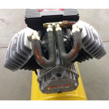 компрессор воздуха поршеня цилиндра 6HP 2200W двойной