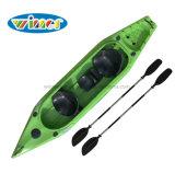 Kayak рыболовства 2+1 места новой конструкции горячий