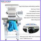 Holiauma 경제 단 하나 맨 위 다중 색깔 산업 자수 기계