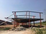 Edificio de marco ligero prefabricado de la estructura de acero