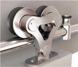 Bois glissant le matériel de porte de grange pour les garnitures d'acier inoxydable (LS-SDS 6505)