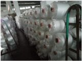 60/2 blanco crudo en el tubo plástico virgen brillante hilo de poliéster Spun