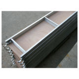 비계를 위한 비계 알루미늄 나무로 되는 판자 또는 널