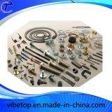 CNCの旋盤の機械化の部品の黄銅またはアルミニウムかステンレス鋼
