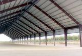 Almacén del marco de acero con el metal prefabricado grande