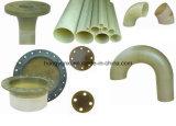 Изготовленный на заказ локоть, тройник, редуктор и фланец стеклоткани
