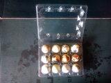 Bandejas plásticas de venda a quente para pacotes de ovos de codorna 12PCS Holes