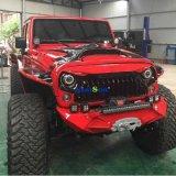 Griglia anteriore arrabbiata di plastica del nuovo ABS di disegno per il Wrangler Jk Jku 2007 2016 della jeep