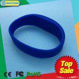 Braccialetto del Wristband del silicone della piscina NTAG213 RFID di Waterpark