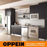 Cabina de cocina mate gris moderna de la melamina de Oppein (OP15-M12)