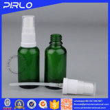 Bottiglia dello spruzzo della foschia dell'indennità dell'olio essenziale di verde di figura rotonda