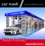 Machine automatique de lavage de voiture de tunnel avec des balais de roue pour la promotion