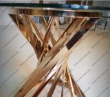 Het moderne Ontwerp nam het Gouden Meubilair van de Koffietafel van het Metaal toe
