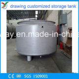 赤いカラー炭素鋼水貯蔵タンク