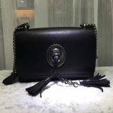 Nuovo sacchetto di spalla del cuoio della borsa delle signore di disegno con le nappe Emg4583