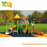 De fabriek Aangepaste Apparatuur van de Dia van de Speelplaats van Kinderen Plastic voor Spel