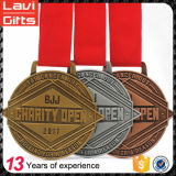 Пожалование металла 2017 спортов ягнится медаль с изготовленный на заказ логосом