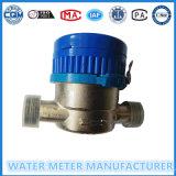 Medidor de água de jato único Medidor de água molhada de ferro