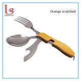 Консервооткрыватель 5 ножа вилки ложки нержавеющей стали в 1 Tableware