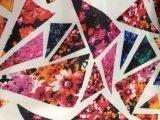 100% gedrucktes Polyester-Taft-Gewebe gesponnenes Gewebe für Kleid oder unten Umhüllung