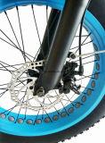 Grasa plegable de la E-Bicicleta de la playa respetuosa del medio ambiente de la nieve con el neumático de 4.0 grasas
