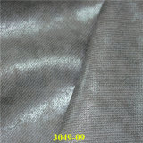 Cuero suave relieve PU Material de s de las mujeres de fabricación de calzado