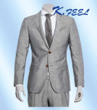 Vestiti grigi di affari degli uomini di miscela della tela & delle lane