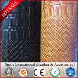 직물 가죽 PVC 가죽 핸드백 가죽 합성에게 가죽에게 다채로운 0.7-1.2mm 간격 공장 만들기