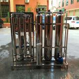 sistema de la instalación de tratamiento del filtro de agua del RO 1000lph/de ósmosis reversa/purificador del agua