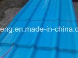 1045mm, лист толя оцинкованной волнистой стали цвета 840mm PPGI Coated