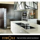 Het witte Eiken Meubilair van de Keuken van het Vernisje Houten (AP093)